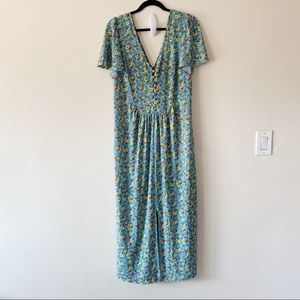 ASOS Maxi Floral Dress Size 12